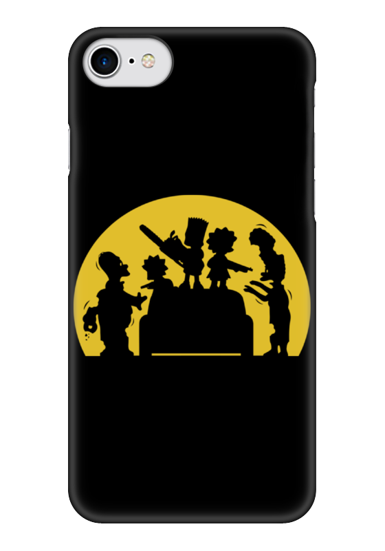 Чехол для iPhone 7 глянцевый Printio Симпсоны зомби (zombie simpsons) чехол для iphone 7 глянцевый printio zombie art