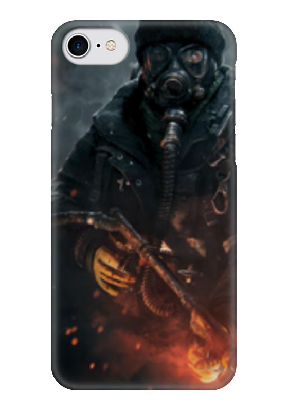 Чехол для iPhone 7 глянцевый Printio Warfare чехол для iphone 7 глянцевый printio skull art