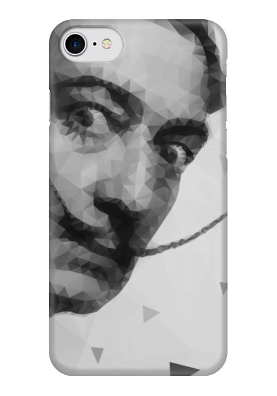 Чехол для iPhone 7 глянцевый Printio Сальвадор дали ручка роллер visconti сальвадор дали корпус темно корич отд бронза vs 665 70