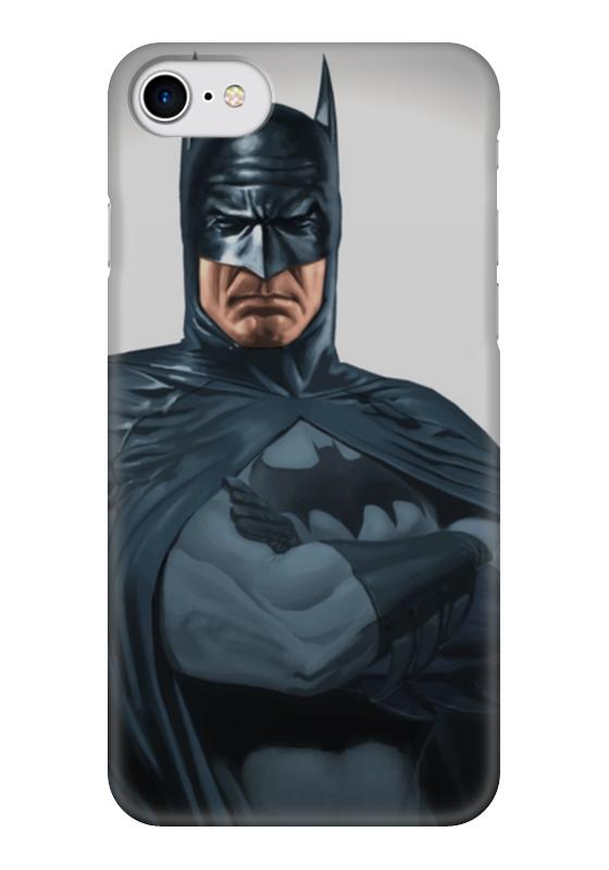 Чехол для iPhone 7 глянцевый Printio Бэтмен чехол для iphone 4 глянцевый с полной запечаткой printio бэтмен
