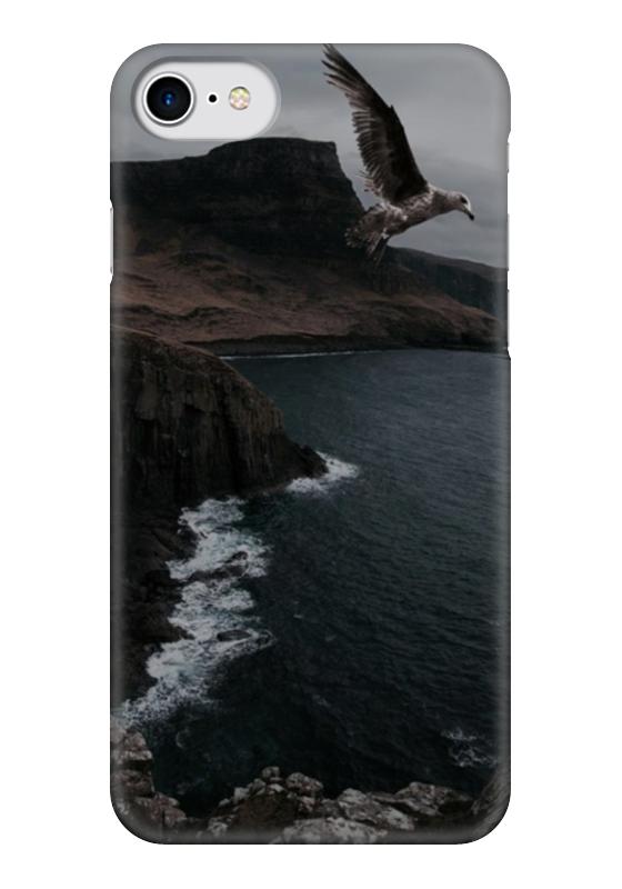 Чехол для iPhone 7 глянцевый Printio Полет чехол для iphone 7 глянцевый printio первый полет в космос космонавта юрия гагарина