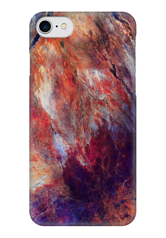 Чехол для iPhone 7 глянцевый Printio Космос чехол для iphone 7 глянцевый printio первый полет в космос космонавта юрия гагарина
