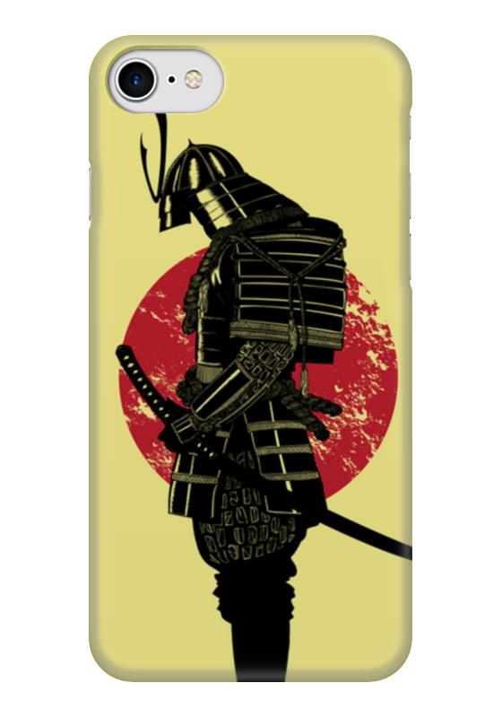 Чехол для iPhone 7 глянцевый Printio Samurai чехол для iphone 7 глянцевый printio horror art