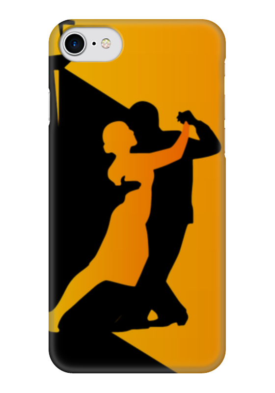 Чехол для iPhone 7 глянцевый Printio Танго в ночи ночи в роданте
