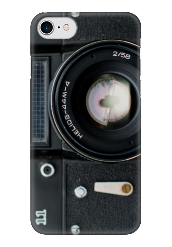 Чехол для iPhone 7 глянцевый Printio Фотоаппарат зенит фотоаппарат