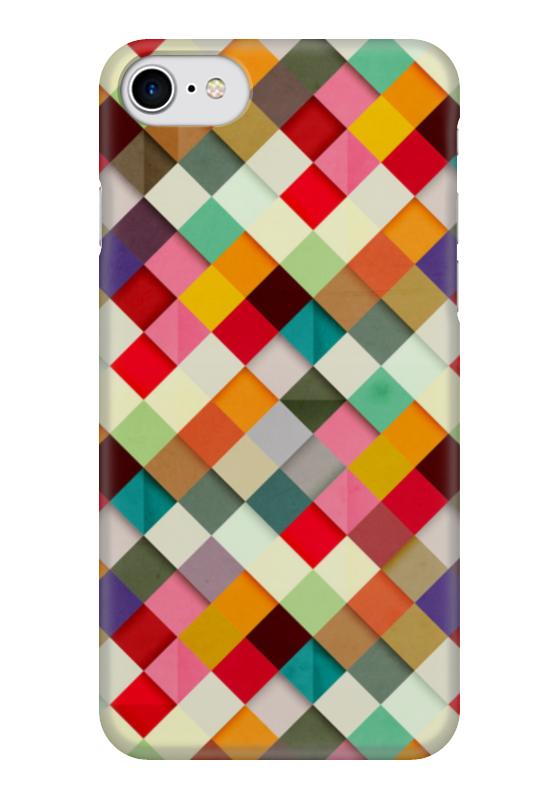 Чехол для iPhone 7 глянцевый Printio Африканский узор - самоцветы авторский комплект самоцветы сентябрина