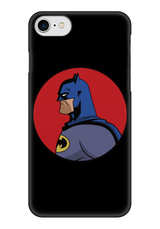 Чехол для iPhone 7 глянцевый Printio Batman / бэтмен чехол для iphone 7 глянцевый printio динозаврики