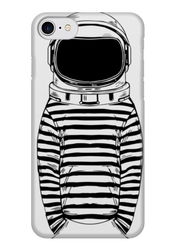 Чехол для iPhone 7 глянцевый Printio Космос чехол для iphone 7 глянцевый printio skull art