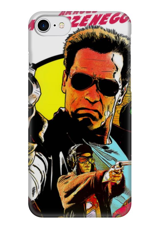 Чехол для iPhone 7 глянцевый Printio Возвращение героя (арнольд шварценеггер) программа возвращение