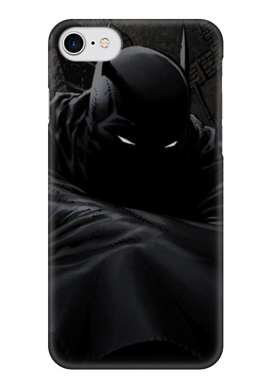 Чехол для iPhone 7 глянцевый Printio Batman (бэтмен) чехол для iphone 4 глянцевый с полной запечаткой printio бэтмен