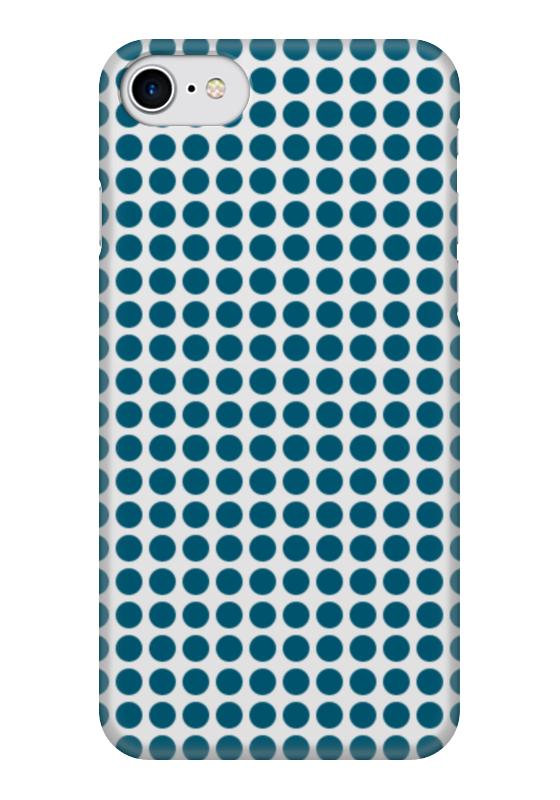 Чехол для iPhone 7 глянцевый Printio Синие шары