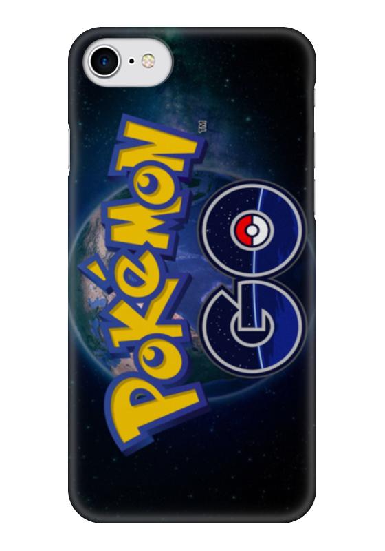 Чехол для iPhone 7 глянцевый Printio Pokemon go go go hz101 7