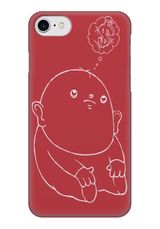 Чехол для iPhone 7 глянцевый Printio Dollar baby чехол для iphone 7 глянцевый printio динозаврики