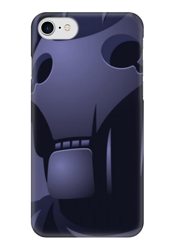 Чехол для iPhone 7 глянцевый Printio Кибермен (доктор кто) чехол для iphone 7 глянцевый printio time lord doctor who