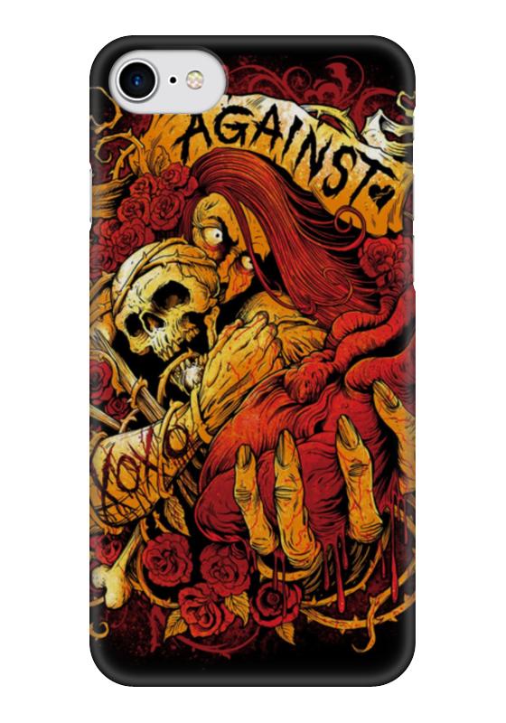 Чехол для iPhone 7 глянцевый Printio Horror art чехол для iphone 7 глянцевый printio альтрон мстители