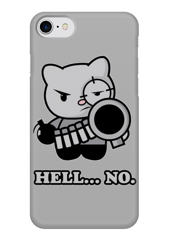 Чехол для iPhone 7 глянцевый Printio Bad cat чехол для iphone 7 глянцевый printio альтрон мстители