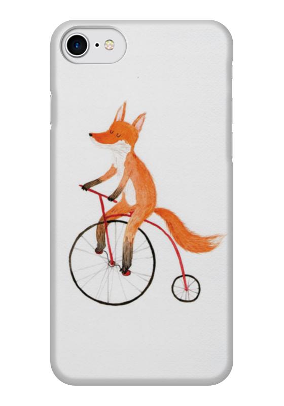 Чехол для iPhone 7 глянцевый Printio Funny fox чехол для iphone 7 глянцевый printio альтрон мстители