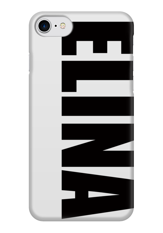Чехол для iPhone 7 глянцевый Printio С именем элина цена