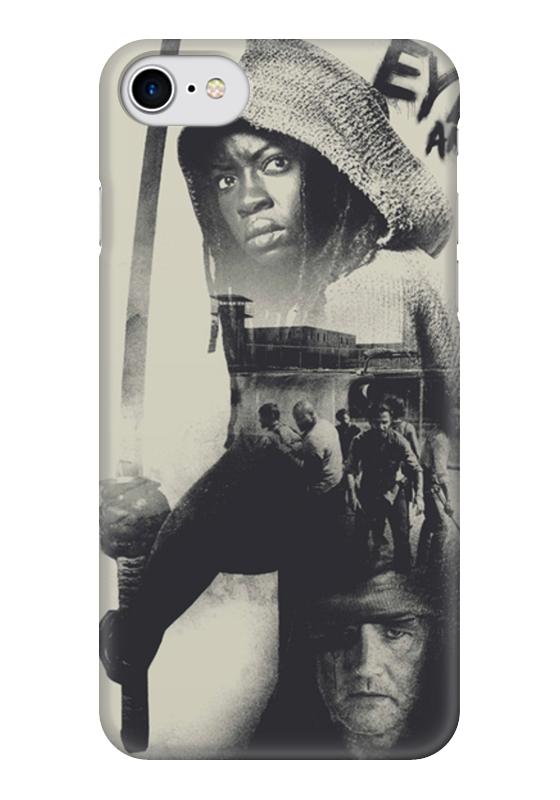 Чехол для iPhone 7 глянцевый Printio The walking dead | michonne худи print bar the walking dead