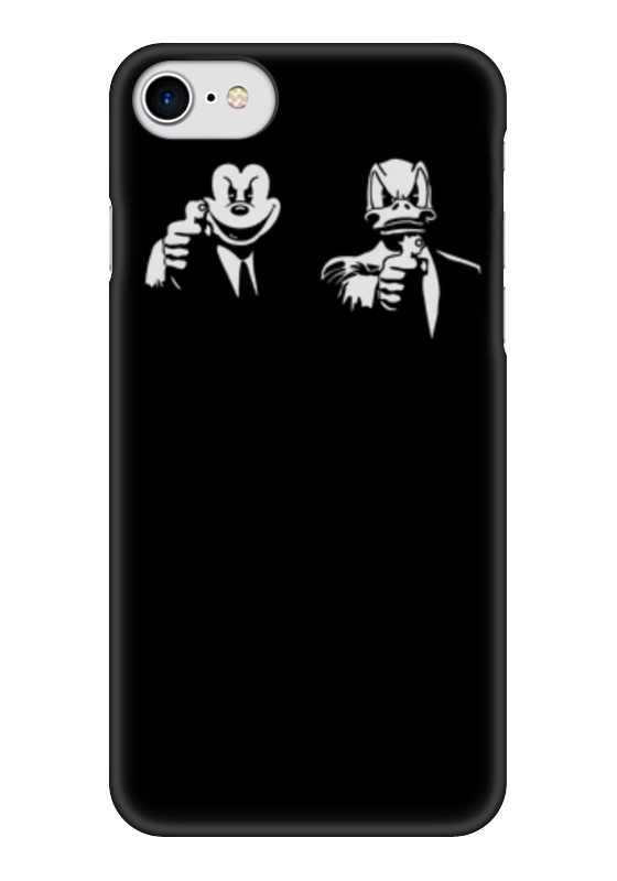 Чехол для iPhone 7 глянцевый Printio Микки и дональд чехол для iphone 6 глянцевый printio микки маус
