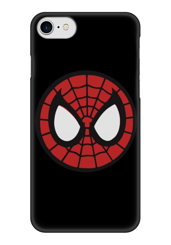 Чехол для iPhone 7 глянцевый Printio Spider-man / человек-паук spider man человек паук на боевой машине page 7