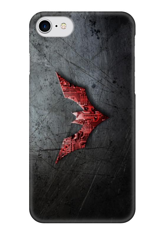 Чехол для iPhone 7 глянцевый Printio Бэтмен будущего чехол для iphone 7 глянцевый printio horror art
