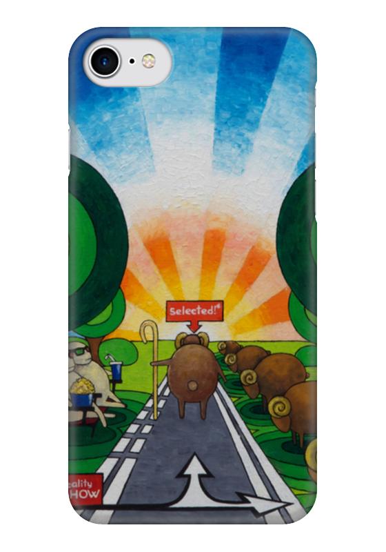 Чехол для iPhone 7 глянцевый Printio Lollypups #10 чехол для iphone 7 глянцевый printio horror art