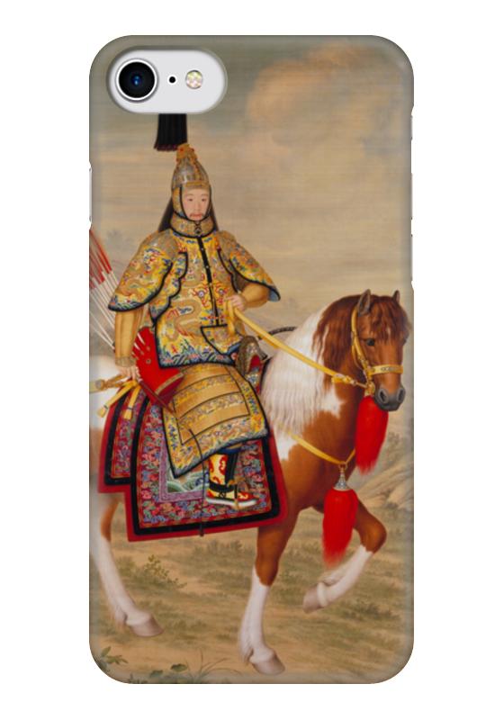 Чехол для iPhone 7 глянцевый Printio Цяньлун (джузеппе кастильоне) концерт джузеппе верди известный и неизвестный