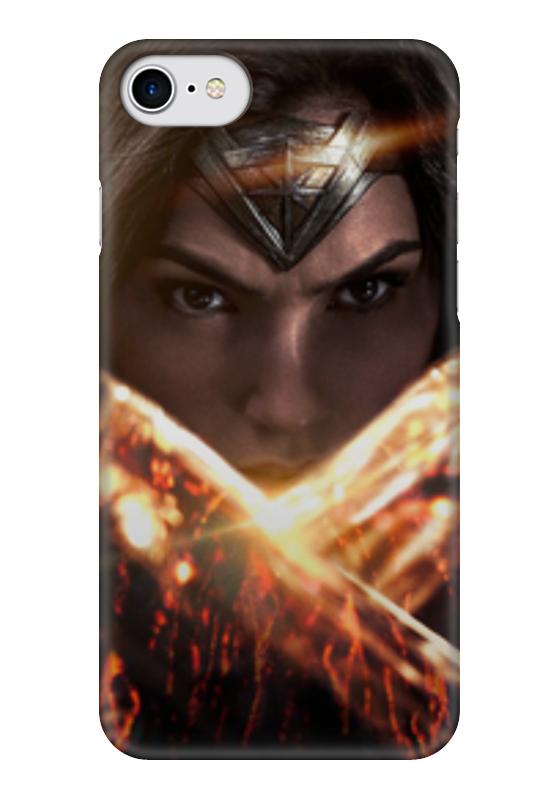 Чехол для iPhone 7 глянцевый Printio Чудо-женщина (wonder woman) чехол для iphone 6 глянцевый printio чудо женщина wonder woman