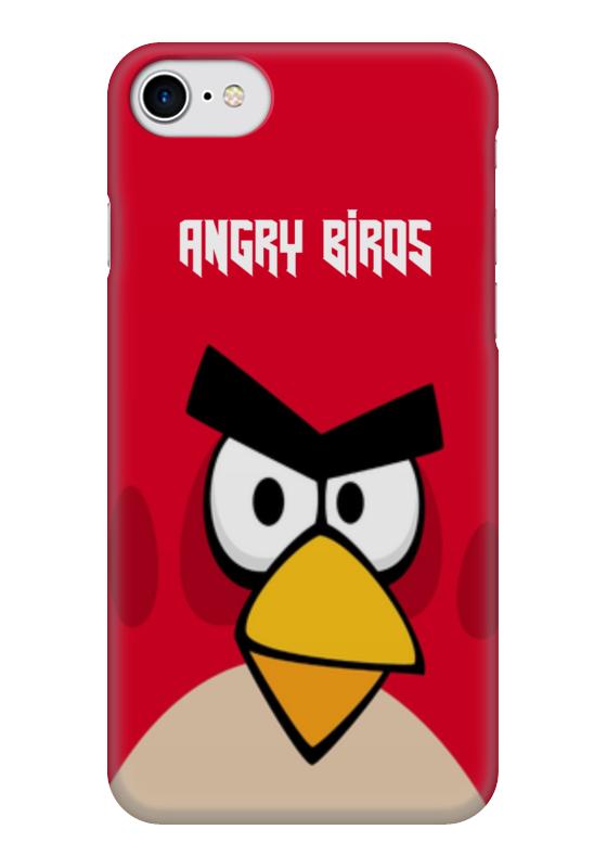 Чехол для iPhone 7 глянцевый Printio Angry birds (terence) чехол gear4 angry birds pig king для new ipad ipad2 ipab303g