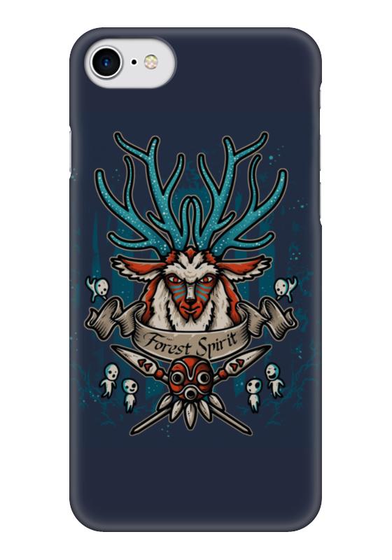 Чехол для iPhone 7 глянцевый Printio Forest spirit. лесной дух чехол для samsung galaxy s5 printio forest spirit лесной дух