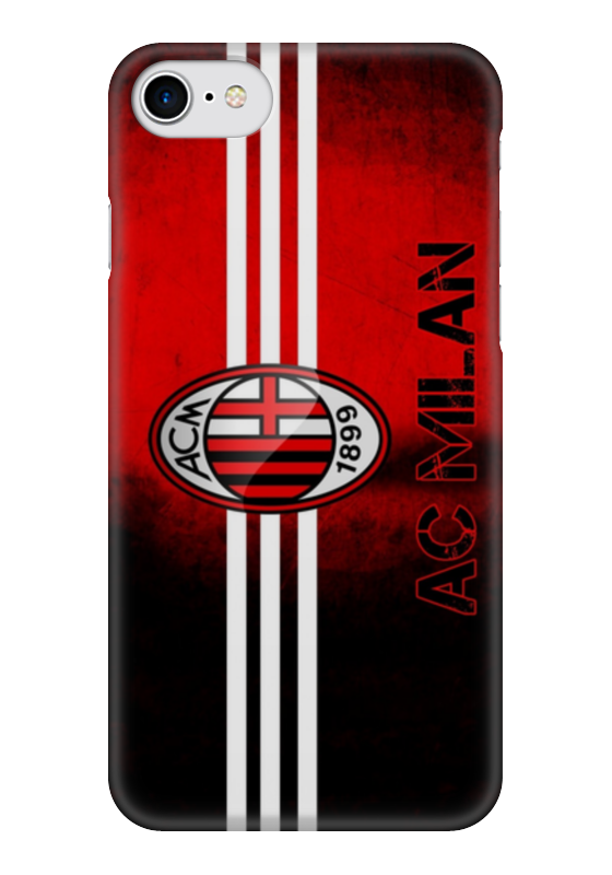 Чехол для iPhone 7 глянцевый Printio Милан (ac milan) adidas ac milan гетры