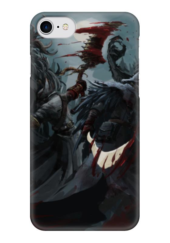 все цены на  Чехол для iPhone 7 глянцевый Printio Передающийся через кровь  онлайн