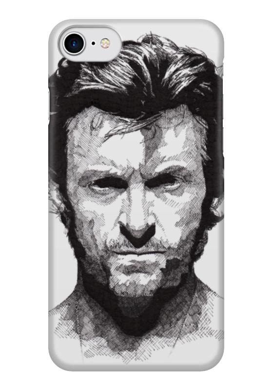 Чехол для iPhone 7 глянцевый Printio Росомаха чехол для iphone 7 глянцевый printio horror art