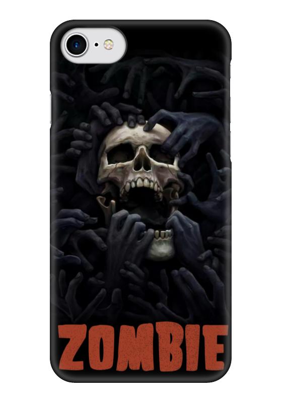 Чехол для iPhone 7 глянцевый Printio Zombie art чехол для iphone 7 глянцевый printio horror art