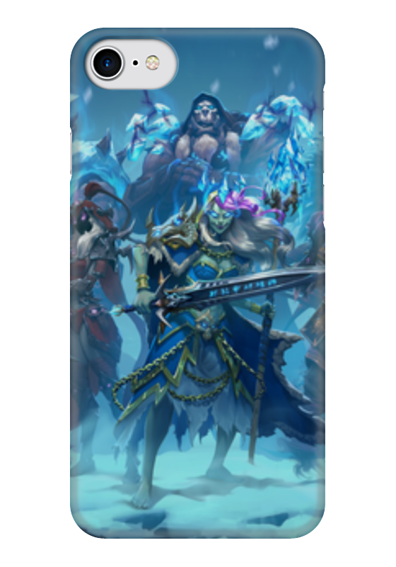 Чехол для iPhone 7 глянцевый Printio Knights of the frozen throne чехол для iphone 6 глянцевый printio knights of the frozen throne