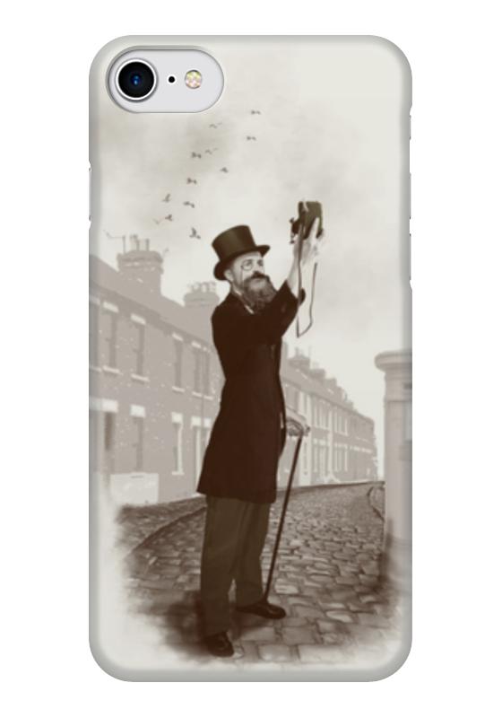 Чехол для iPhone 7 глянцевый Printio Винтажное селфи