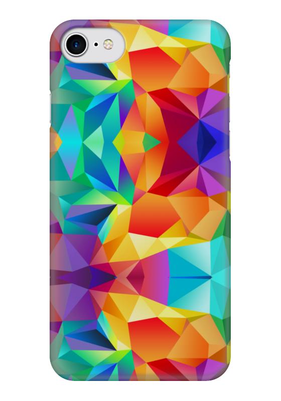 Чехол для iPhone 7 глянцевый Printio Яркие краски чехол для iphone 7 глянцевый printio horror art