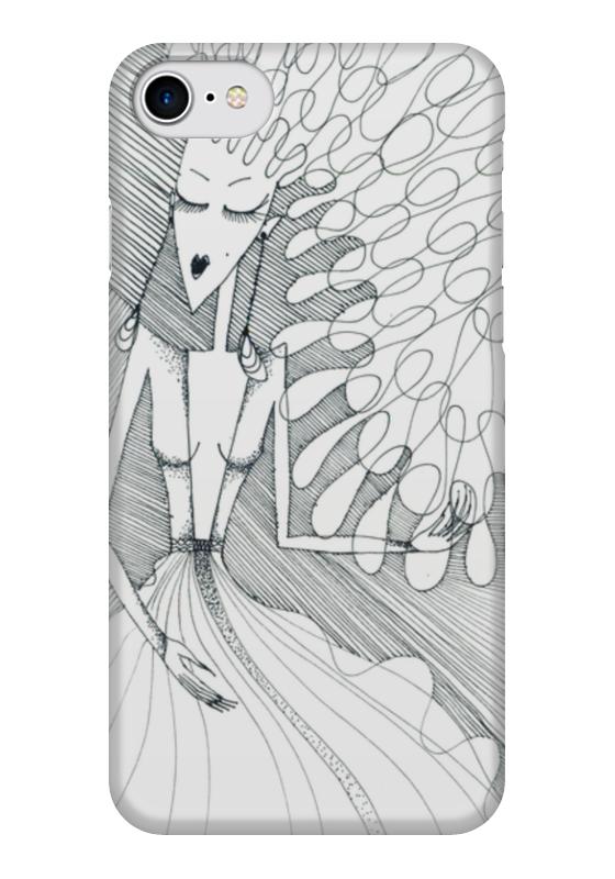 Чехол для iPhone 7 глянцевый Printio Curly girlie чехол для iphone 7 глянцевый printio мечты витторио коркос