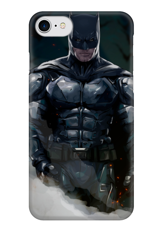 Чехол для iPhone 7 глянцевый Printio Бэтмен чехол для iphone 7 глянцевый printio vs boutique