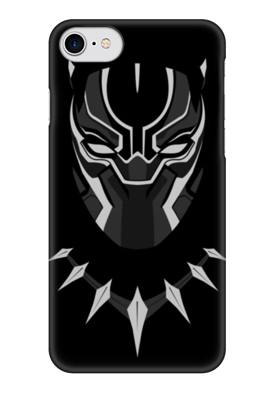 Чехол для iPhone 7 глянцевый Printio Черная пантера чехол для iphone 7 глянцевый printio horror art