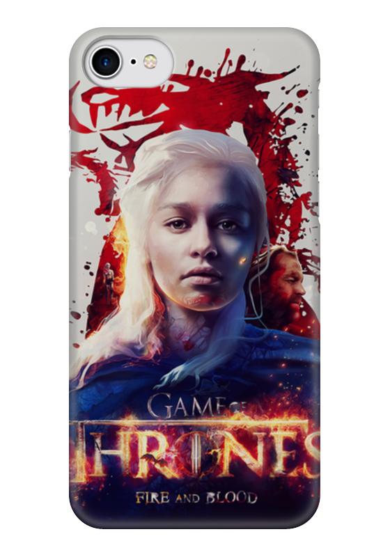 Чехол для iPhone 7 глянцевый Printio Игры престолов