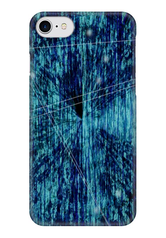 Чехол для iPhone 7 глянцевый Printio Футуристическая. психоделика русская футуристическая книга
