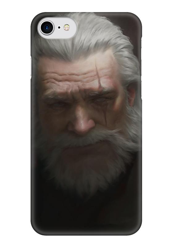 Чехол для iPhone 7 глянцевый Printio Рейнхард чехол для iphone 7 глянцевый printio skull art