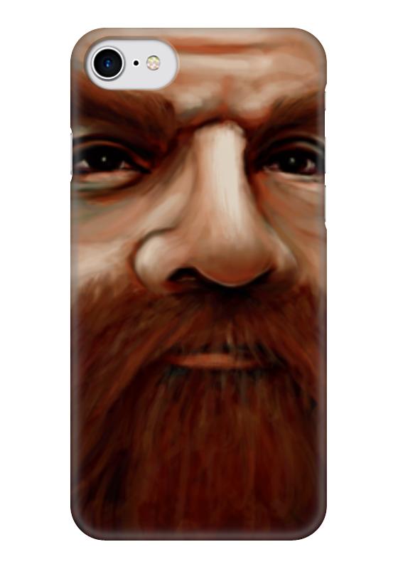 Чехол для iPhone 7 глянцевый Printio Гимли футболка print bar властелин колец гимли