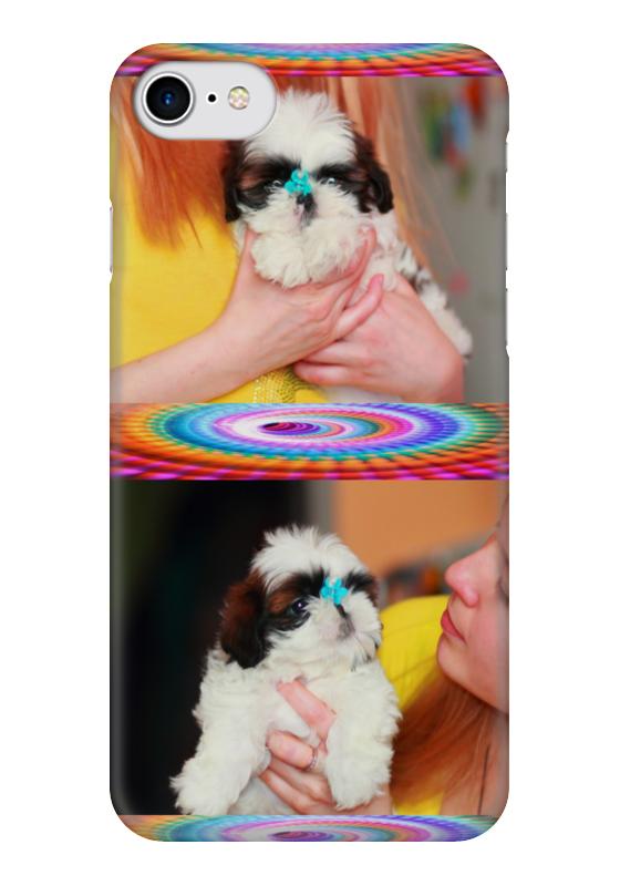 Чехол для iPhone 7 глянцевый Printio Кукольный щенок ши-тцу д канлифф ши тцу стандарты содержание разведение профилактика заболеваний