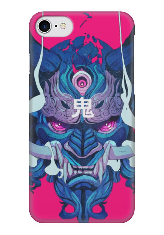 Чехол для iPhone 7 глянцевый Printio Dragon
