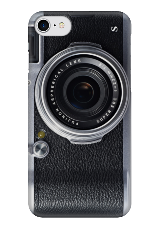 Чехол для iPhone 7 глянцевый Printio Photocamera чехол для iphone 5 printio с именем анна