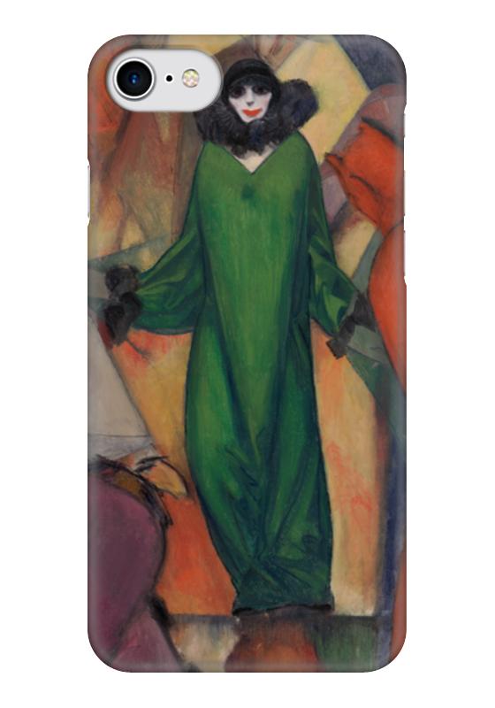Чехол для iPhone 7 глянцевый Printio Зеленое домино (альберт блох) альберт байкалов проклятие изгнанных