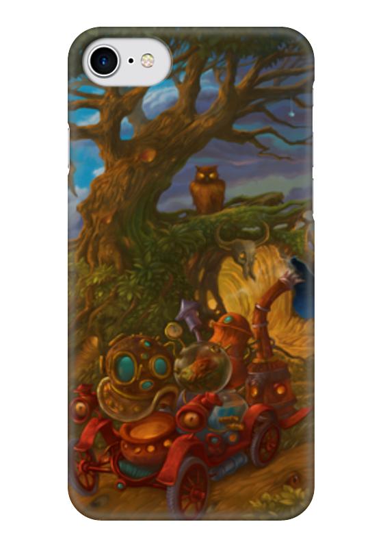 Чехол для iPhone 7 глянцевый Printio Стимпанк / steampunk чехол для iphone 7 глянцевый printio мечты витторио коркос